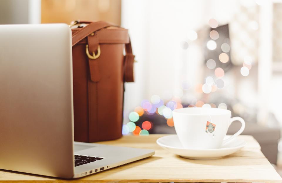 mpress computer coffee