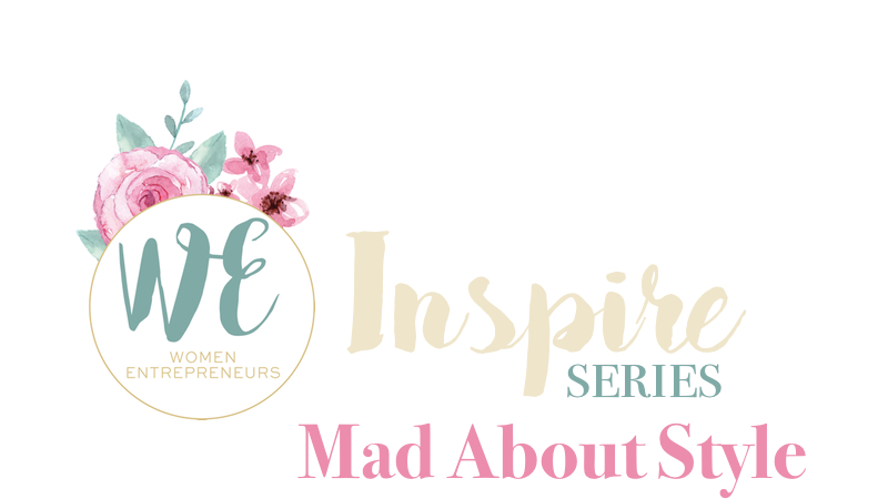 WE Inspire Mad About Style Title