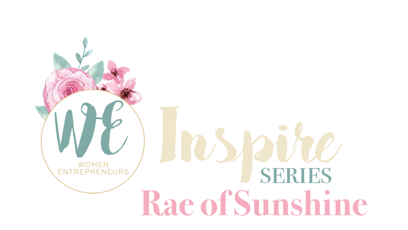 WE Inspire Rae of Sunshine Cover