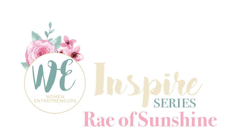 WE Inspire Rae of Sunshine Cover